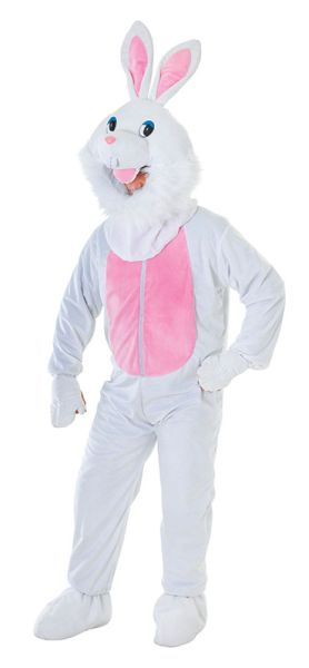Adult Rabbit Big Head Costume Thumbnail 1