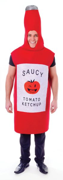 Tomato Sauce Bottle Costume  Thumbnail 1