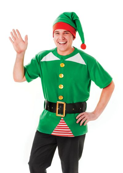 Jolly Elf Costume Kit Thumbnail 1