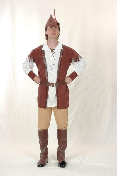 Man's Robin Hood Deluxe Costume Thumbnail 1