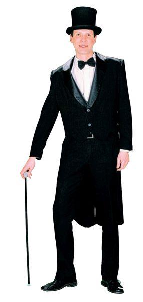 Male Tailcoat Black Thumbnail 1