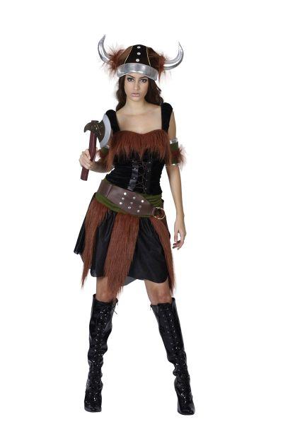 Viking Lady Costume Thumbnail 1