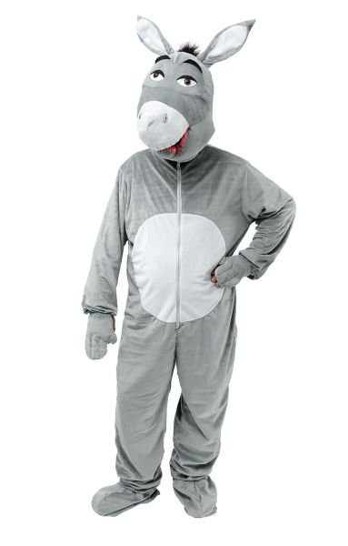 Adult Donkey Big Head Costume Thumbnail 1