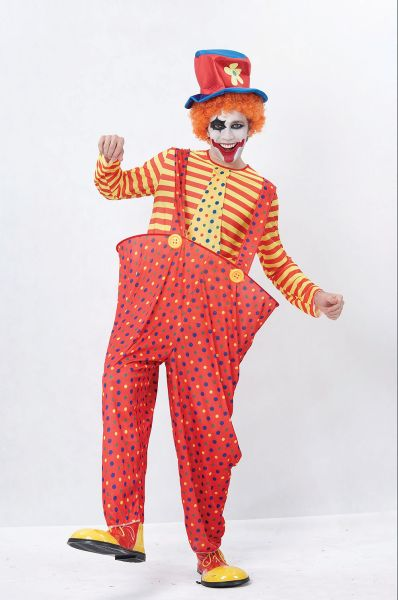 Adult Hoop Clown Costume Thumbnail 1