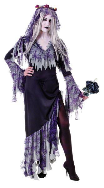 Adult Zombie Bride Costume Thumbnail 1