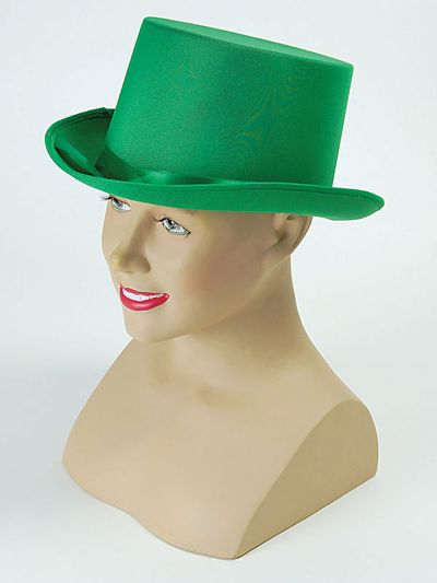 Top Hat. Green Thumbnail 1