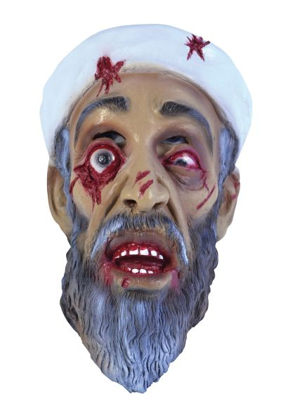 Zombie Bin Laden Mask Thumbnail 1