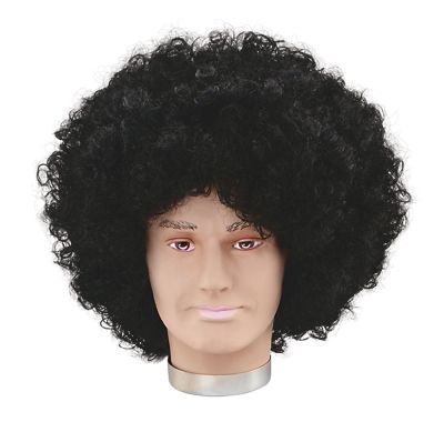 Jumbo Pop Wig. Black Thumbnail 1