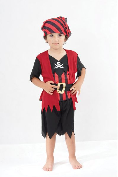 Pirate Boy Mate Toddler Costume Thumbnail 1
