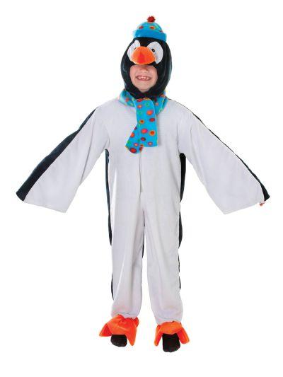 Childs Plush Penguin Costume Thumbnail 1