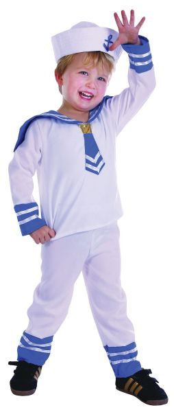 Sailor Boy Toddler Costume Thumbnail 1