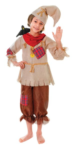 Childs Scarecrow Costume Thumbnail 1