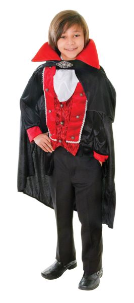 Childs Victorian Vampire Costume Thumbnail 1
