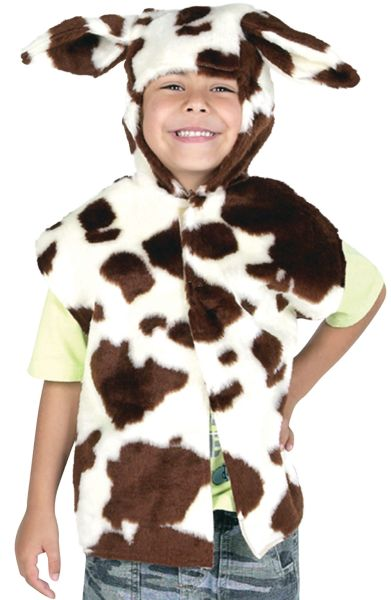 Childs Cow Fur Tabard Thumbnail 1