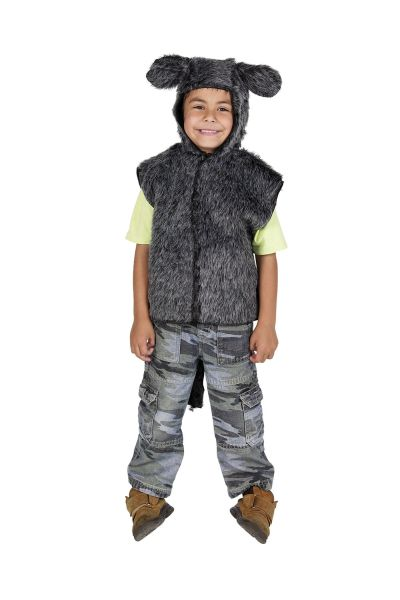 Childs Donkey Fur Tabard Thumbnail 1