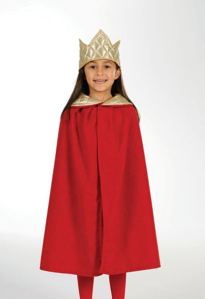 Childs Unisex Nativity Tabard  King  Red Thumbnail 1