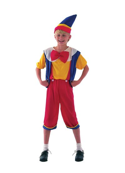 Childs Pinocchio Costume Thumbnail 1
