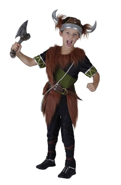 Childs Viking Boy Costume Thumbnail 1