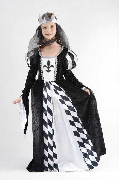 Childs Chess Queen costume Thumbnail 1