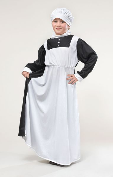 Childs Florence Nightingale Costume Thumbnail 1