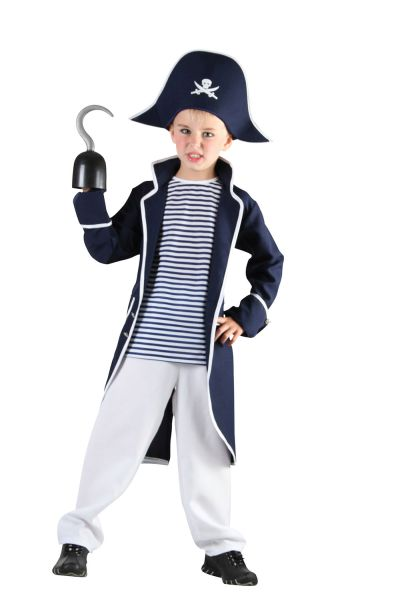 Childs Pirate Captain Costume Thumbnail 1