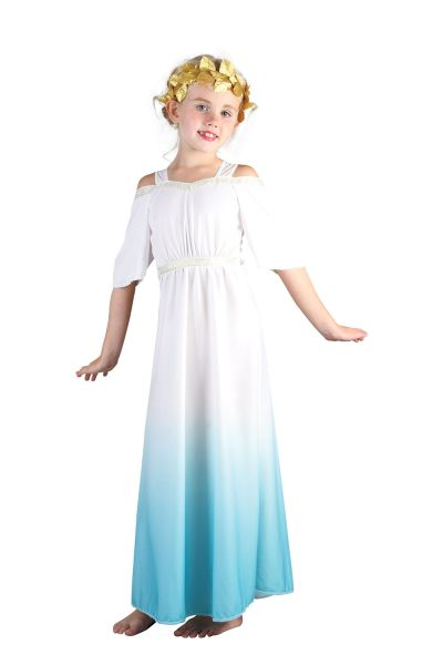 Childs Roman Goddess Costume Thumbnail 1