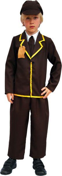 Evacuee Boy Costume Thumbnail 1