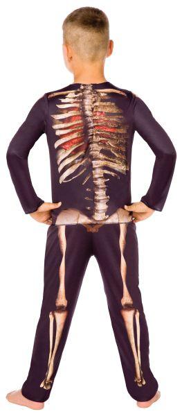 Childs Skeleton 3D Style Costume Thumbnail 2
