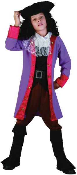 Childs Pirate Hook Costume Thumbnail 1