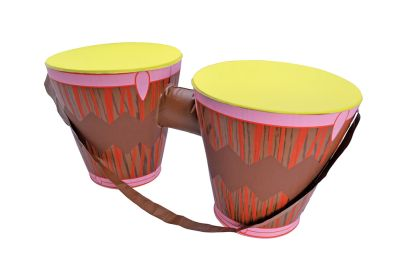 Inflatable Bongo Drums Thumbnail 1