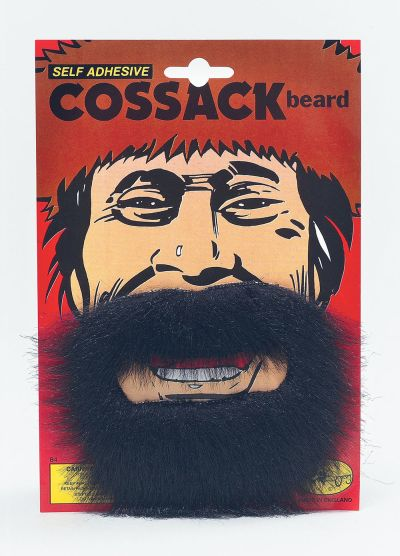Cossack Beard. Black Thumbnail 1