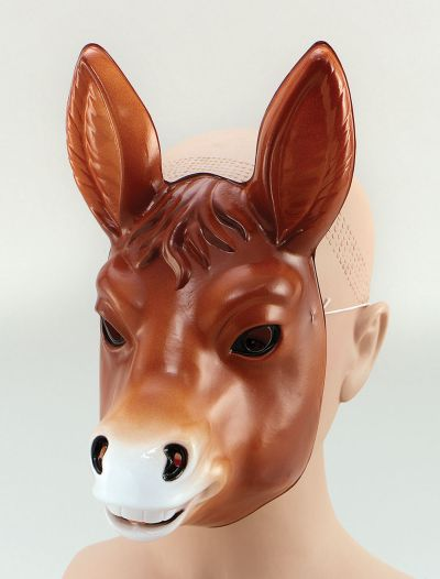 Plastic Animal. Donkey Thumbnail 1