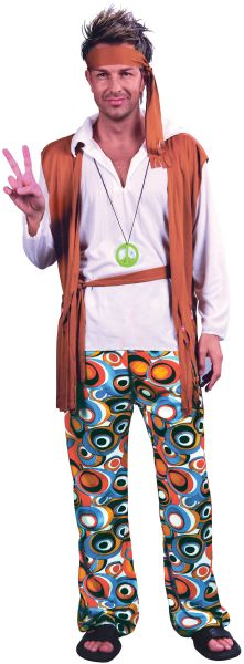 Hippy Man Costume Thumbnail 1