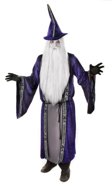 Adult Wizard Robe Costume Thumbnail 1
