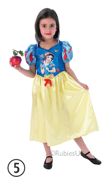 Kids-Licensed-Disney-Princess-Girls-Book-Week-Fancy-Dress-Costume-Party-Dress-Up