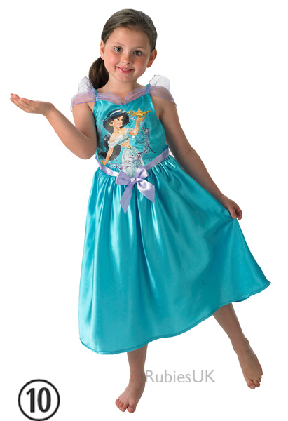 Child-Licensed-Disney-Princess-Girls-Book-Week-Fancy-Dress-Kids-Party-Costume