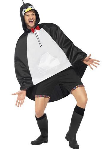 Penguin Party Poncho Thumbnail 2