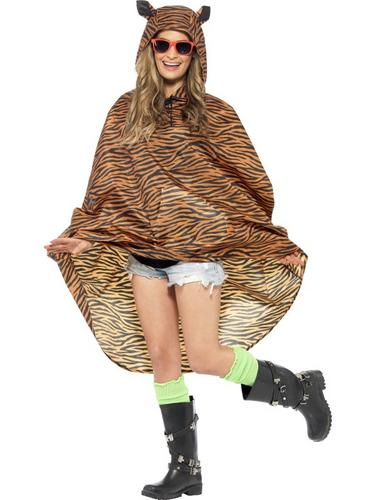 Tiger Party Poncho Thumbnail 1