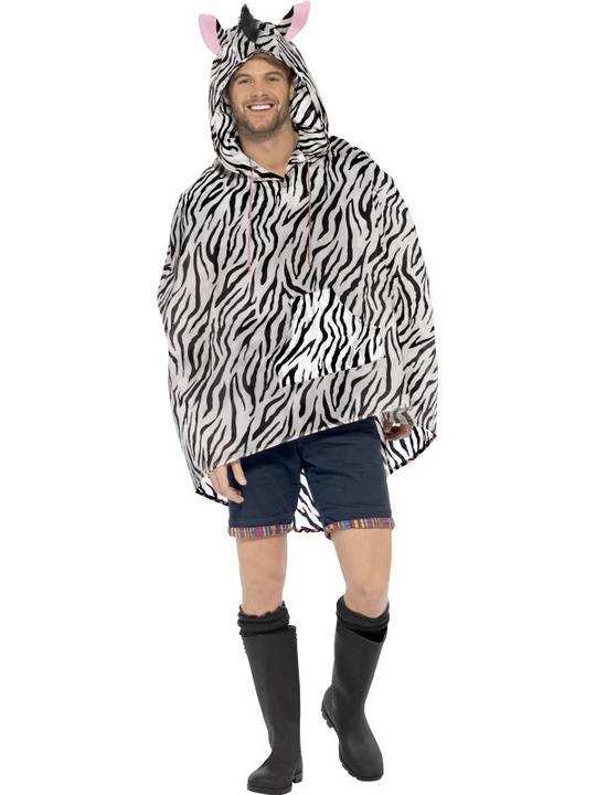 Zebra Party Poncho Thumbnail 2