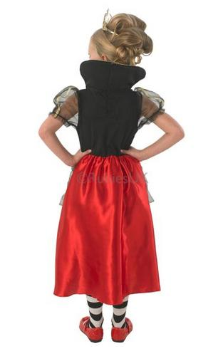 Childs Queen Of Hearts Costume Thumbnail 2