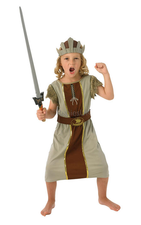 Child Viking Boy Costume Thumbnail 1