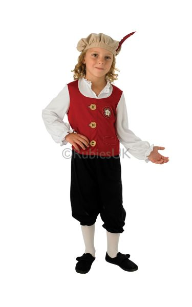 Child Tudor Boy Costume