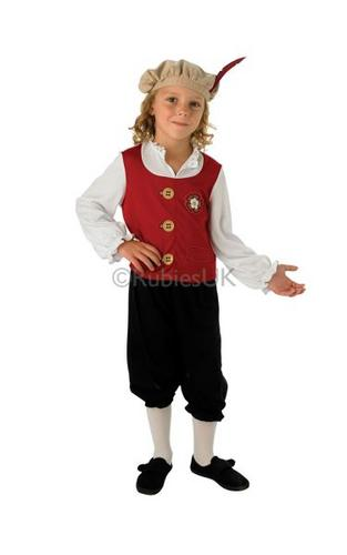Child Tudor Boy Costume Thumbnail 1