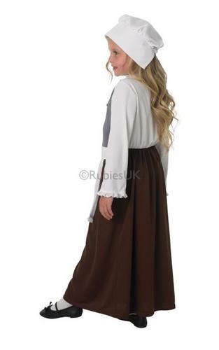 Child Tudor Girl Costume Thumbnail 3