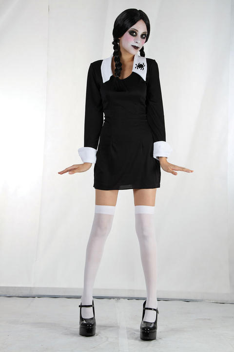 Childs Creepy Schoolgirl Costume Thumbnail 1