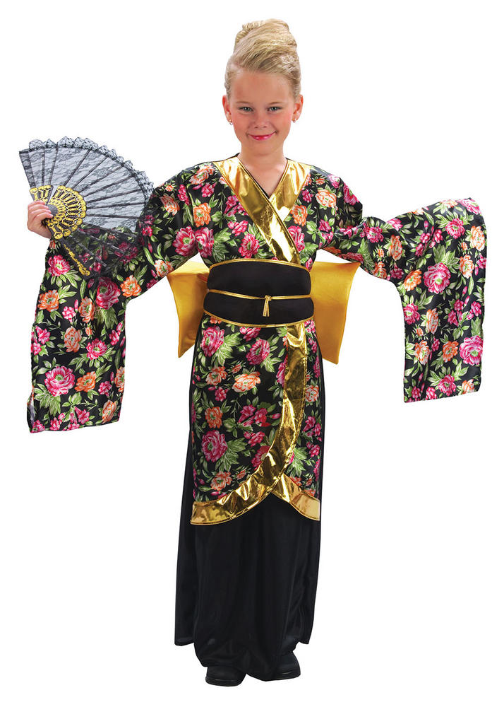 Childs Geisha Girl Costume
