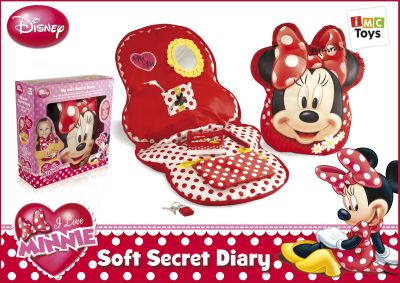 Disney Minnie My Soft Secret Diary Thumbnail 1