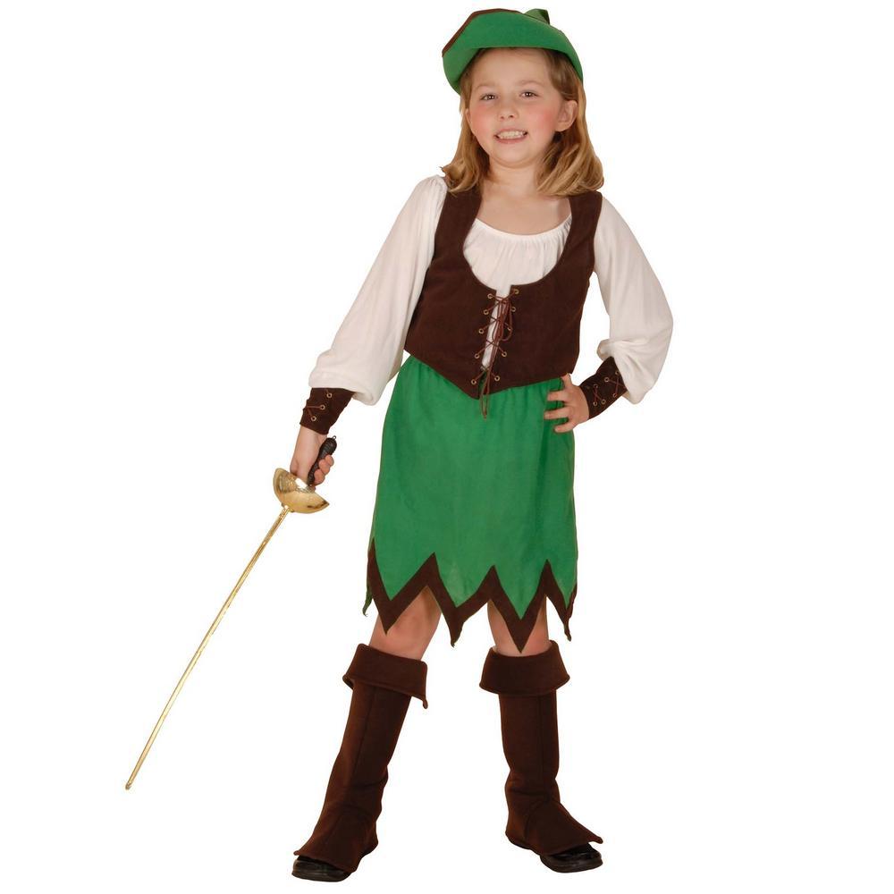 Robin Hood Girl Deluxe Costume