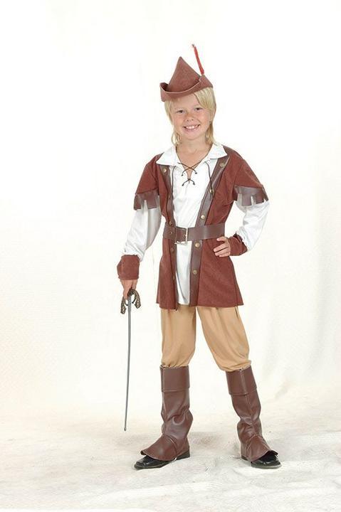 Robin Hood Boy Deluxe Costume Thumbnail 1