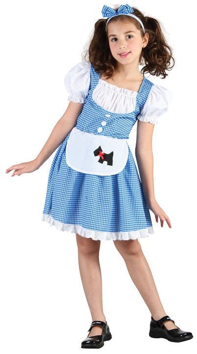 Childs Fairy Tale Girl Costume Thumbnail 1